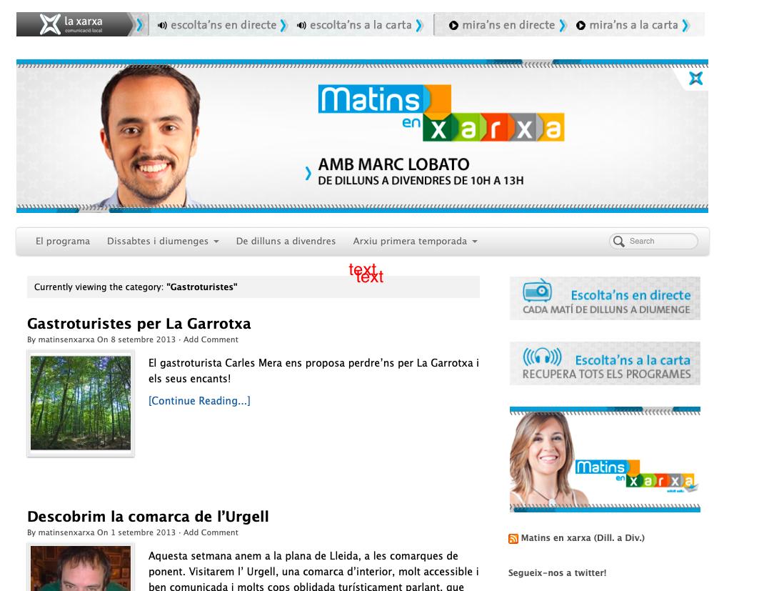 gastroturistes Carles Mera